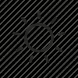 day, solar, sun, sunlight, weather icon