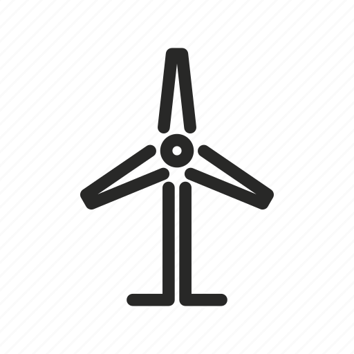 a wind power generator, generator, plant, power, weather, wind icon