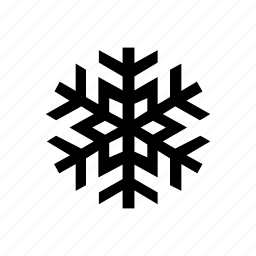 decoration, flake, forecast, snow, weather, winter icon
