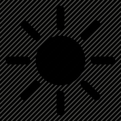 heat, summer, sun, warm, weather icon