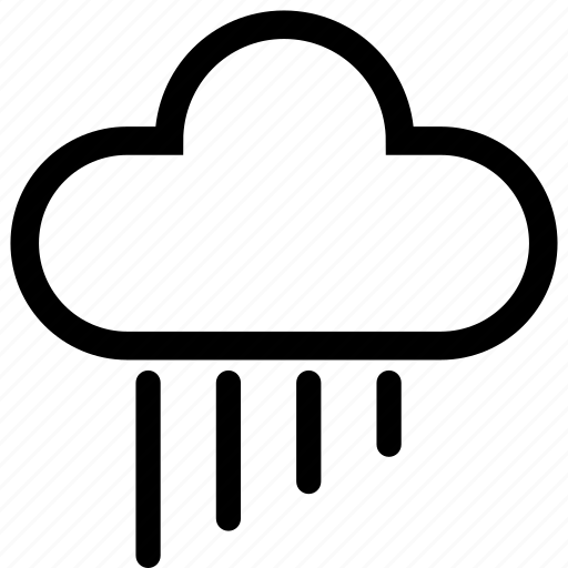 cloud, clouds, forecast, rain, raining, storm, weather icon