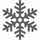 flake, freeze, frost, snow, snowflake, weather icon