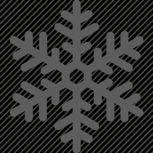 flake, freeze, frost, snow, snowflake, weather icon