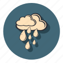 cloud, clouds, forecast, rain, weather icon