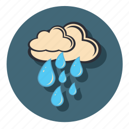 cloud, clouds, cloudy, rain, weather icon