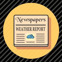 cloud, communication, forecast, media, news, weather icon