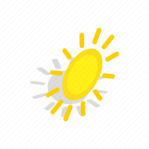 element, heat, hot, isometric, sun, sunlight, sunshine icon