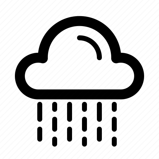forecast, rain, report, temperature, weather icon