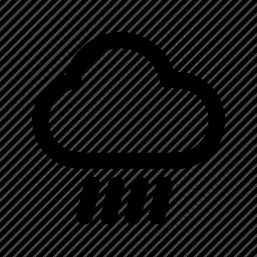 Cloud, rain, rainy, weather icon - Download on Iconfinder