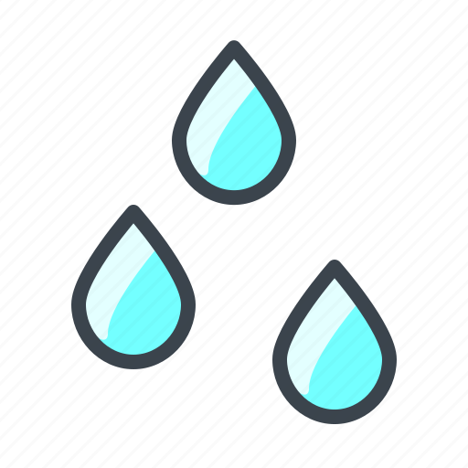 clouds, cloudy, drop, forecast, night, rain, weather icon
