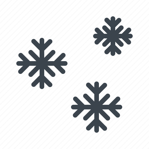 christmas, cool, forecast, snow flower, snowflake, weather, winter icon