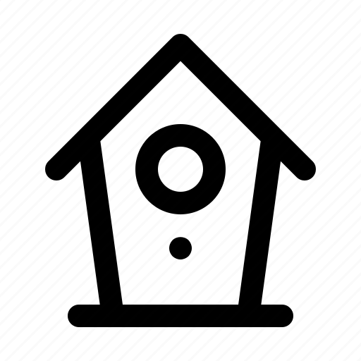 building, home, house, line, property, rumah, weather icon