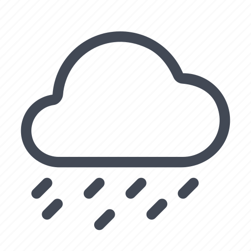 drizle, forecast, rain, weather icon