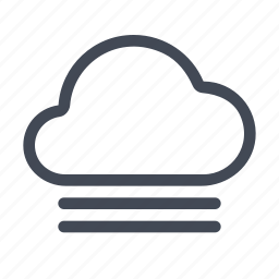 fog, forecast, mist, weather icon