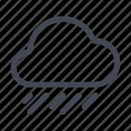 forecast, rain, showers, weather icon