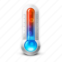 cold, cool, hot, temperature, thermometer, warm icon