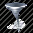 tornado, whirl icon