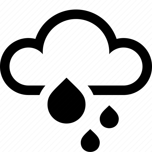 cloud, drizzle, rain, storm, thunderstorm, weather icon