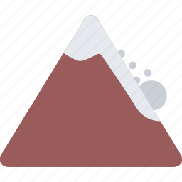 agent, avalanche, insurance, nature, phenomenon, weather icon