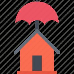 agent, house, insurance, nature, phenomenon, weather icon