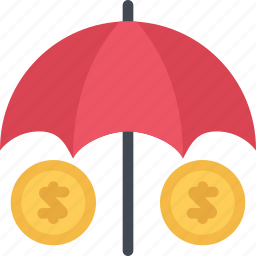 agent, insurance, money, nature, phenomenon, weather icon