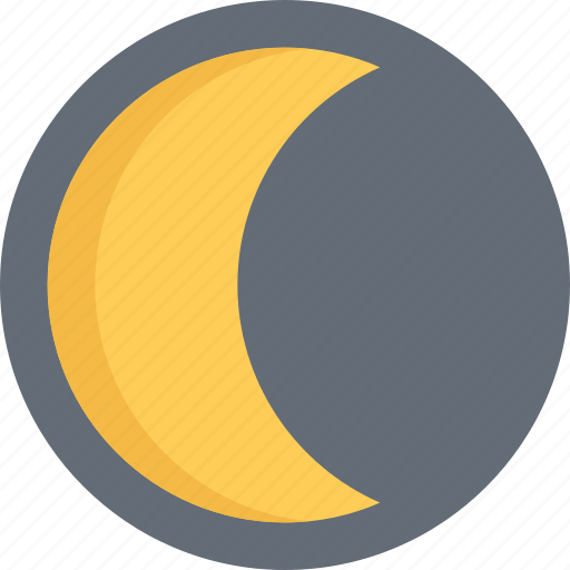 agent, insurance, moon, nature, phenomenon, weather icon
