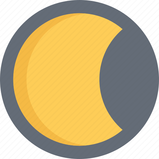 agent, insurance, moon, nature, phenomenon, weather icon