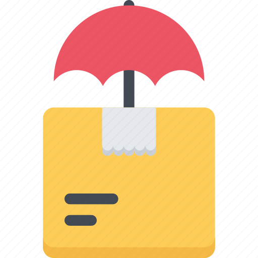 agent, insurance, nature, package, phenomenon, weather icon
