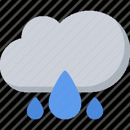 agent, insurance, nature, phenomenon, rain, weather icon