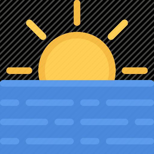 agent, insurance, nature, phenomenon, sea, weather icon