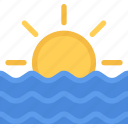 agent, insurance, nature, phenomenon, sea, weather icon