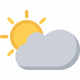 agent, cloud, insurance, nature, phenomenon, sun, weather icon