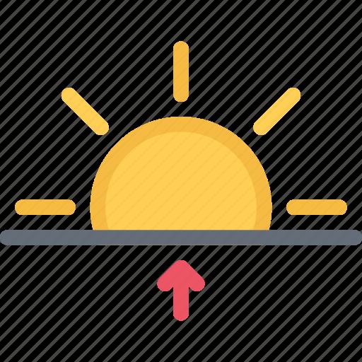 agent, insurance, nature, phenomenon, sunrise, weather icon