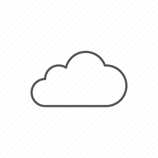 cloud, data, network, storage, upload, weather icon