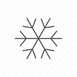 cold, flake, freeze, ice, snow, weather icon