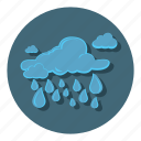 cloudy, rain, raining, storm, weather icon