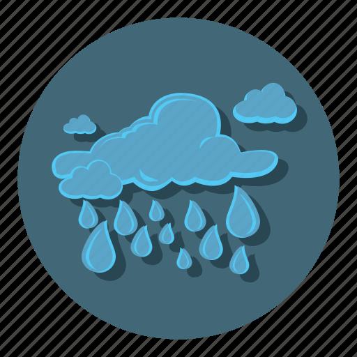 cloudy, rain, raining, storm, weather icon