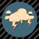 storm, lightning, thunder, weather