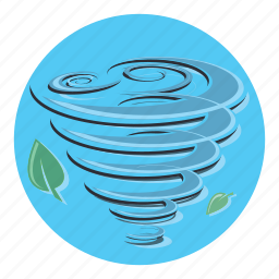 hurricane, storm, tornado, weather, wind, windy icon