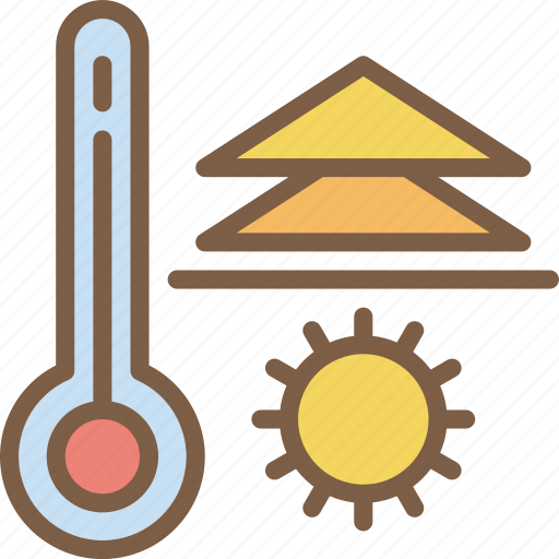 Hot, temperature, weather icon - Download on Iconfinder