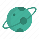 astronomy, celestial, cosmos, moon, orbit, planet, space icon