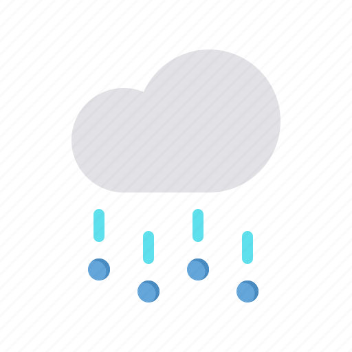 cloud, forecast, hail, rain, stone, storm, weather icon