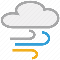 clouds, forecast, weather, winds icon