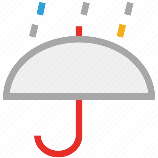 forecast, protection, rain, umbrella, weather icon