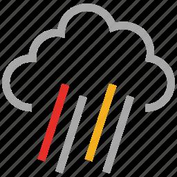 forecast, lightning, storm, thunder, thunderstorm, weather icon