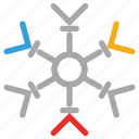 flurries, forecast, snow, snowflake, weather icon