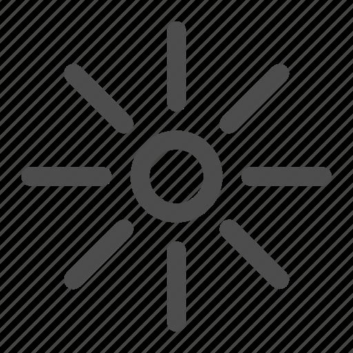 hot, light, little, soft light, sun, sunshine, weather icon