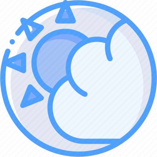 Cloud, sun, weather icon - Download on Iconfinder