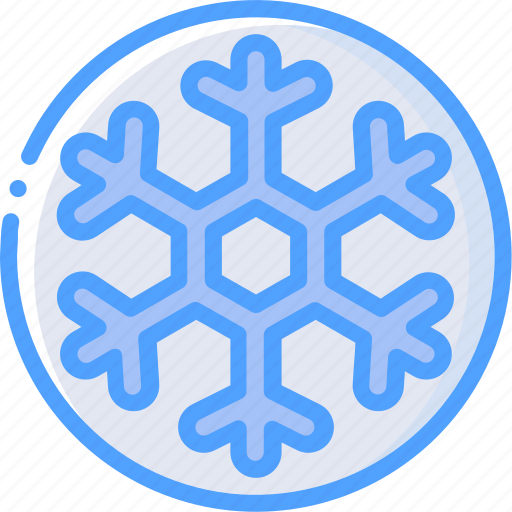 frost, snowflake, weather icon