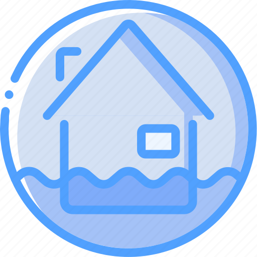 Flood, warning, weather icon - Download on Iconfinder